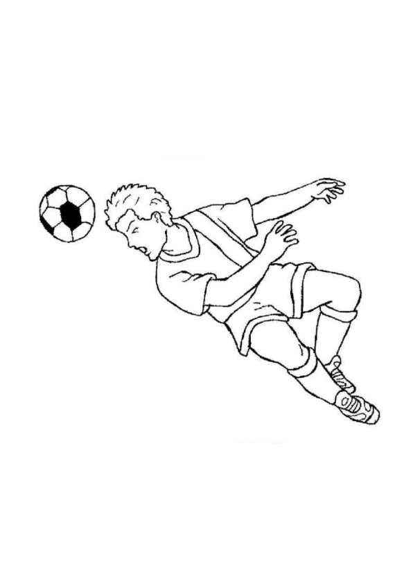 Kleurplaten En Zo 187 Kleurplaat Van Voetbal