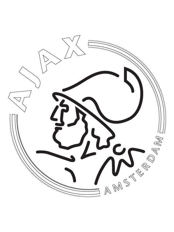 Kleurplaten En Zo 187 Kleurplaat Van Ajax