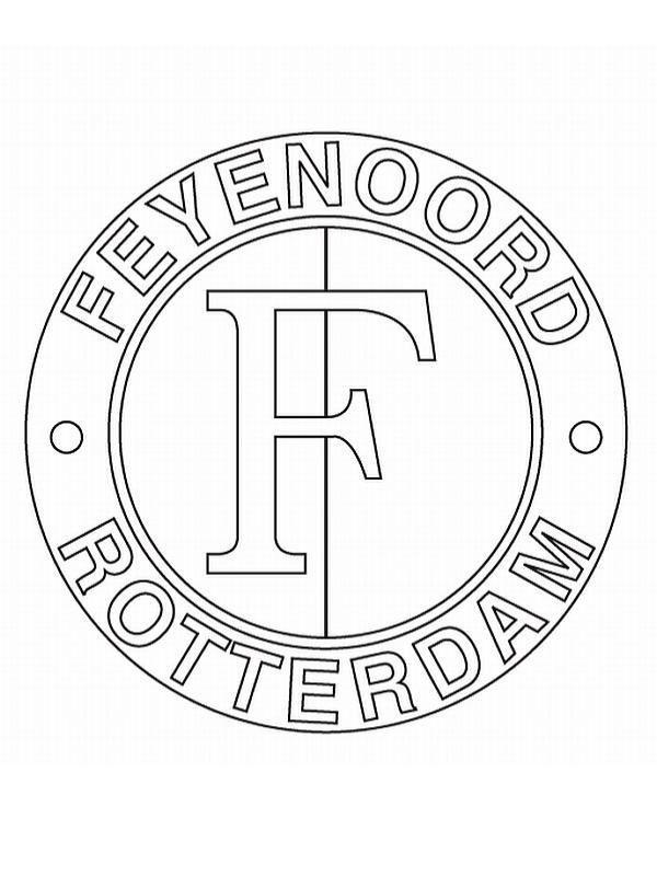Ado Den Haag Logo Kleurplaat Kleurplaten En Zo 187 Kleurplaten Van Voetbalclubs Nederland