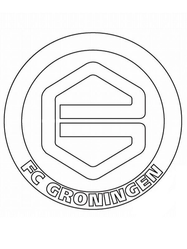 Voetbal Kleurplaat Nederland Kleurplaten En Zo 187 Kleurplaat Van Groningen