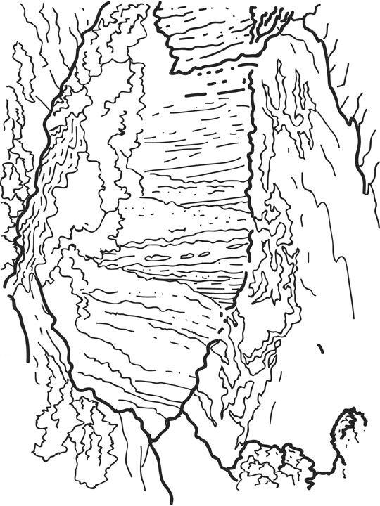 Kleurplaten Waterval.Kleurplaten En Zo Kleurplaat Van Vicoria Watervallen Brazilie