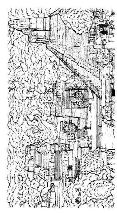 Kleurplaten En Zo 187 Kleurplaat Van De Stad Tikal Mexico