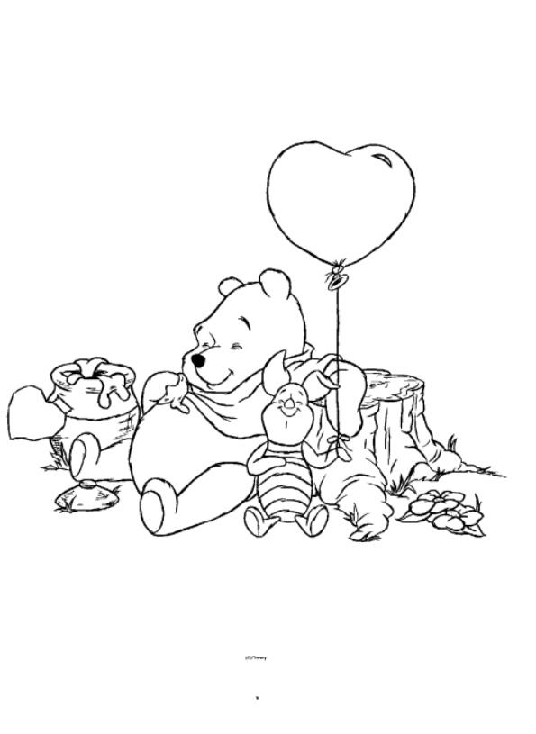 Kleurplaten Winnie The Pooh En Zijn Vriendjes.Kleurplaten En Zo Kleurplaten Van Winnie De Pooh