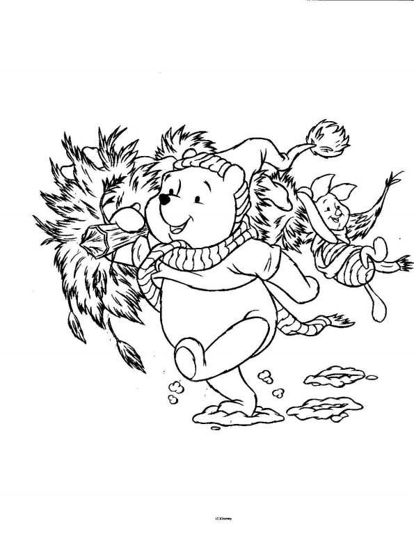 Het Beste Van Kleurplaat Winnie the Pooh Verjaardag