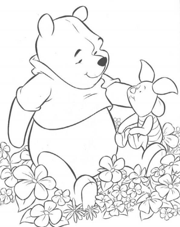 Kleurplaten Disney Winnie The Pooh.Kleurplaten En Zo Kleurplaten Van Winnie De Pooh