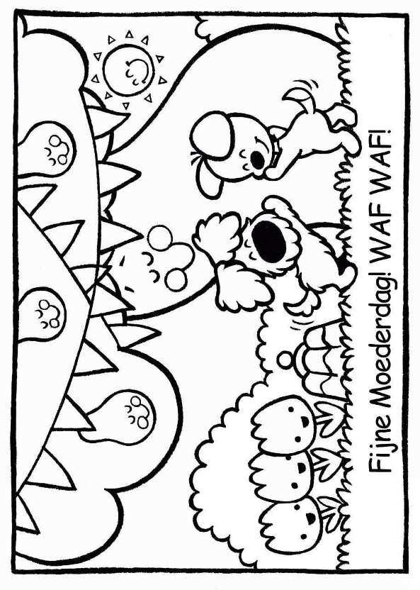 Woezel En Pip Kleurplaat Kerst Kleurplaten En Zo 187 Kleurplaat Van Woezel En Pip